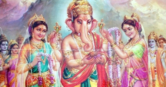 The Story behind Ganesha's Marriage to Riddhi and Siddhi