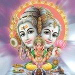 lord shiva worshipping vinayaka