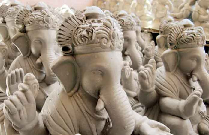 we should pray only clay ganesha know why