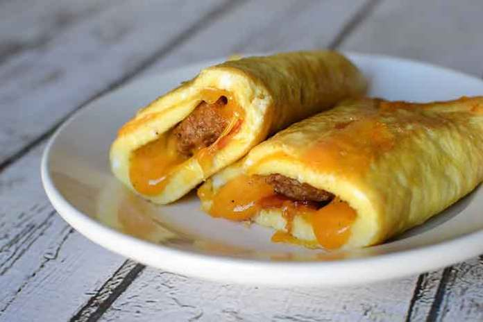 egg cheese roll recipe