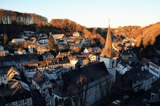 Ausblick über Blankenheim