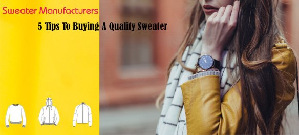 Sweater Manufacturers