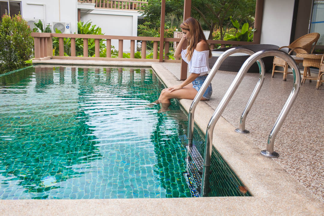 girl pool detox lifeco phuket