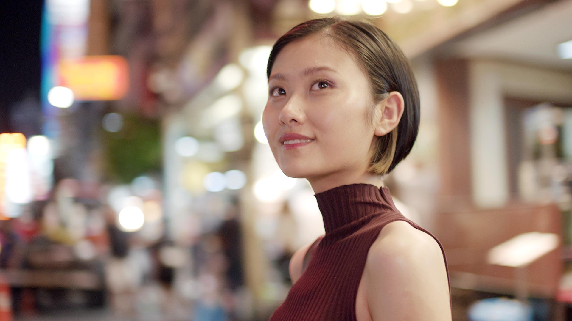 Beautiful woman SK-II