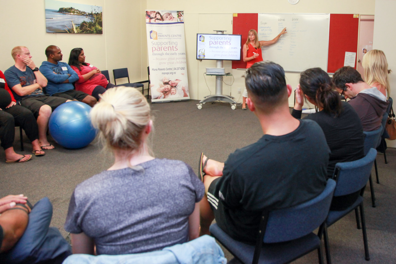 Childbirth and Pregnancy course Teaching session