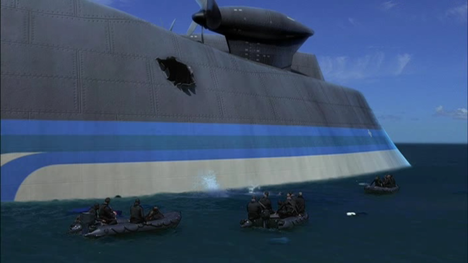 The Poseidon Adventure 2005 Mana Pop