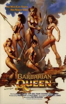 Barbarian Queen poster 1