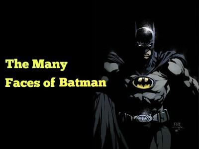 may faces of batman