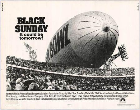black sunday movie poster