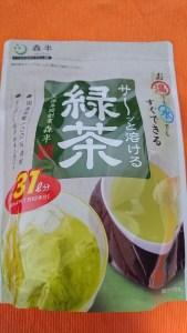 森半のサーッと溶ける緑茶