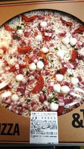 丸型ピザパンチェッタ&モッツァレラ/コストコ