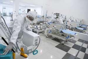 США по количеству зараженных коронавирусом на первом месте