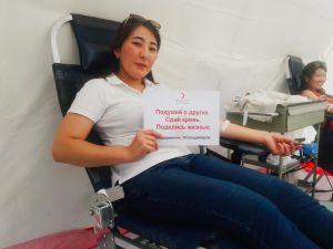 «Узнай свое давление» : акция в честь Дня донора крови