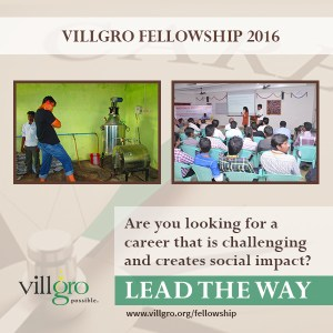 The Villgro Fellowship
