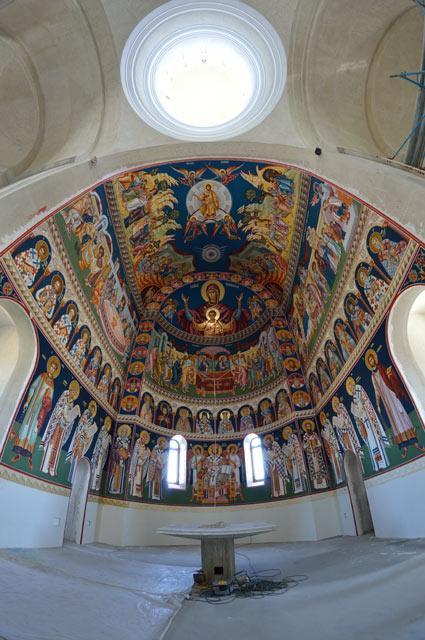 pictura din sfantul altar