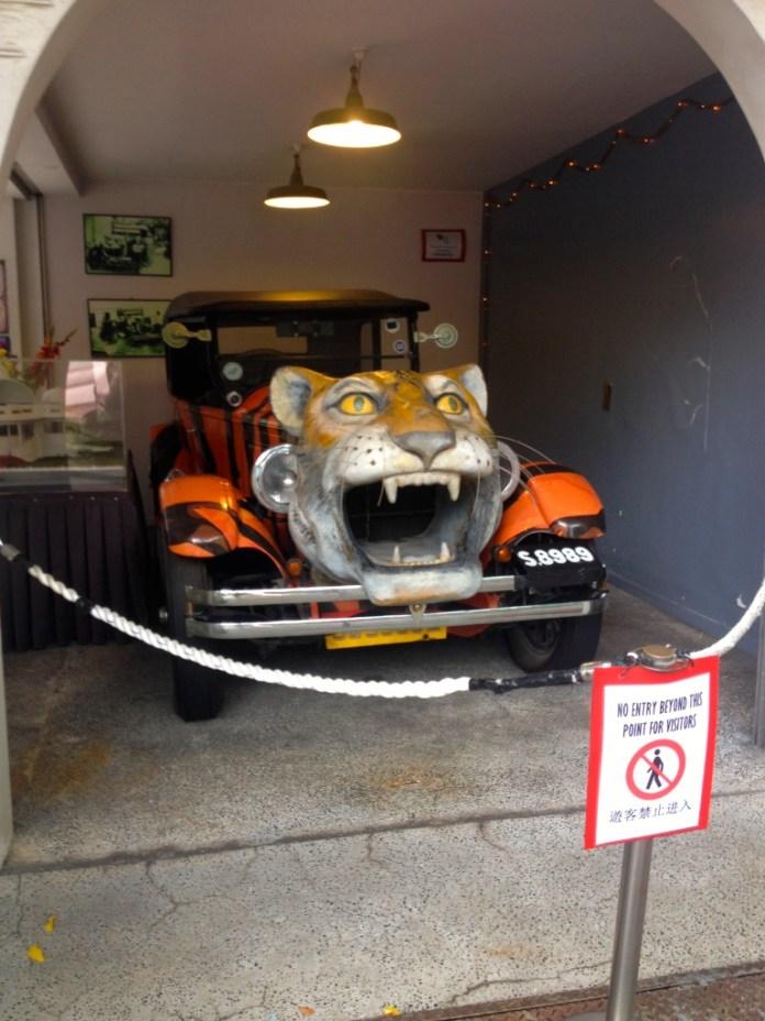 The Tiger Balm Car
