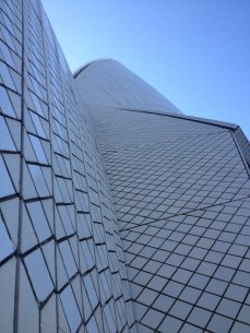 Close up of the Opera House roof