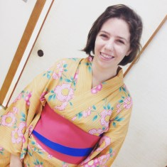 All dressed up in a yukata