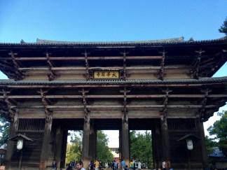 Entrance to Todaji