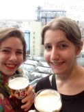 Rooftop drinks with the sister in Dublin