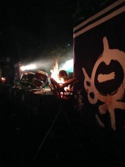 A night scene at Okage Matsuri