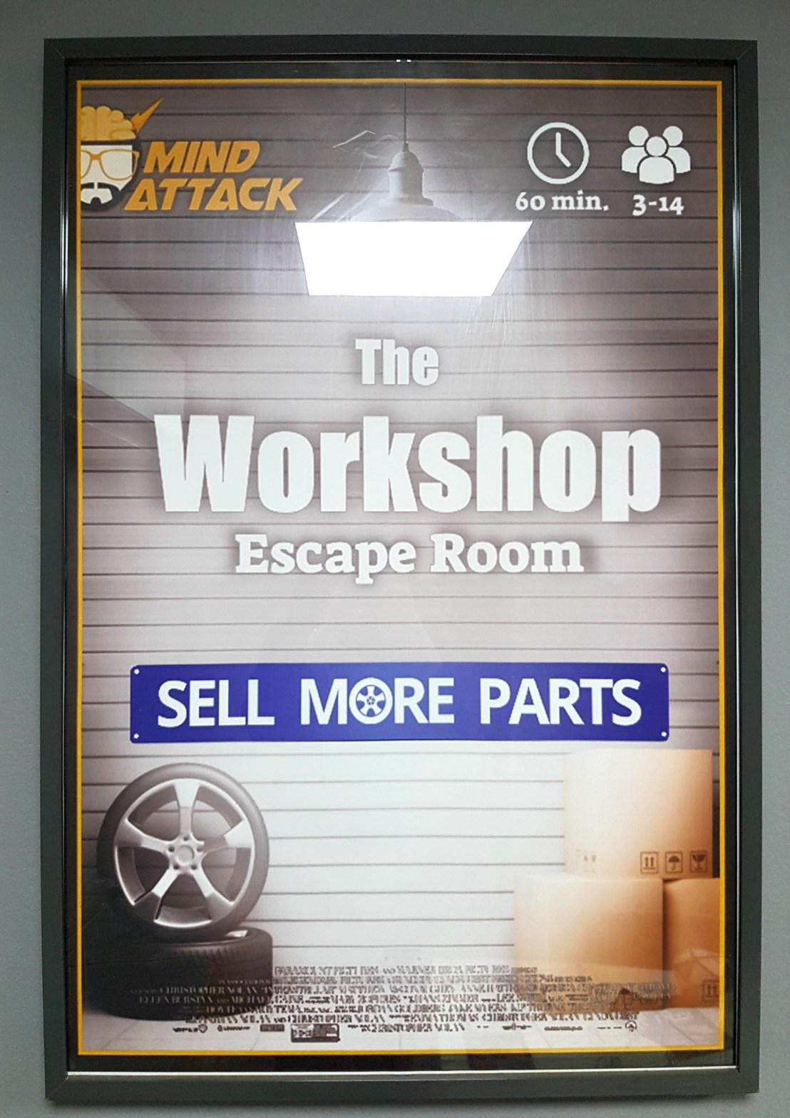 The workshop escape room