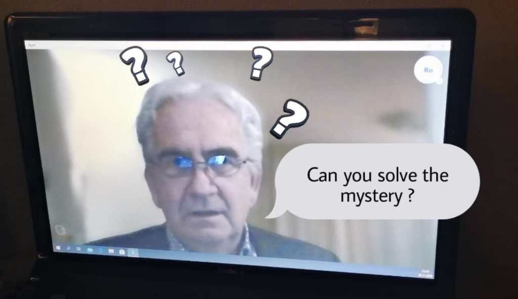 Can you solve the mystery?