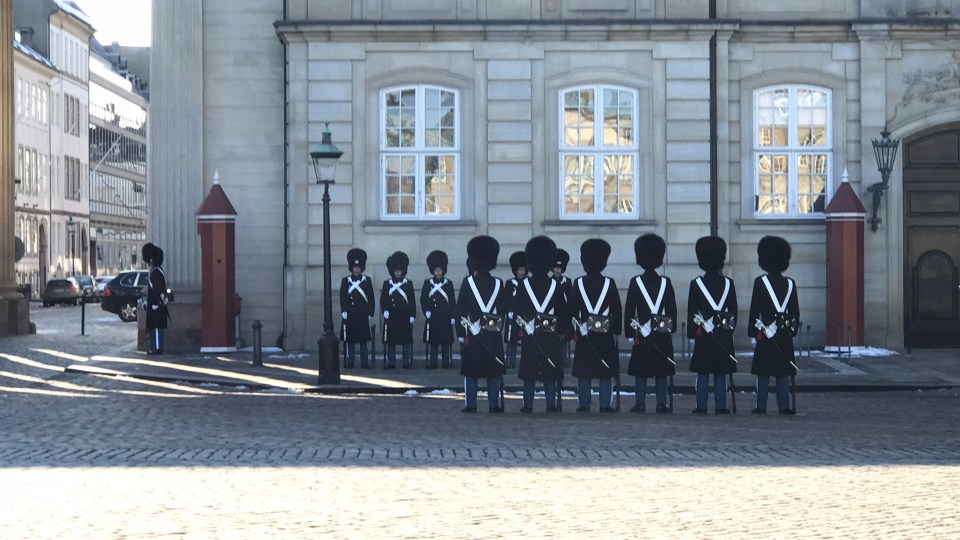 Copenhague - Amalienborg