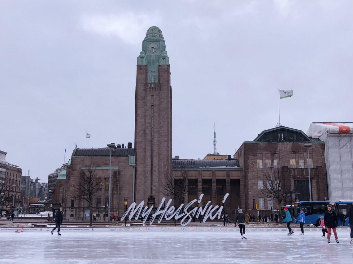 Helsinki - Rautatientori - Place de la gare centrale