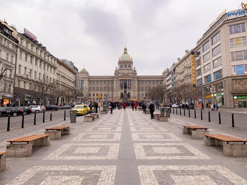Václavské náměstí - Place Venceslas