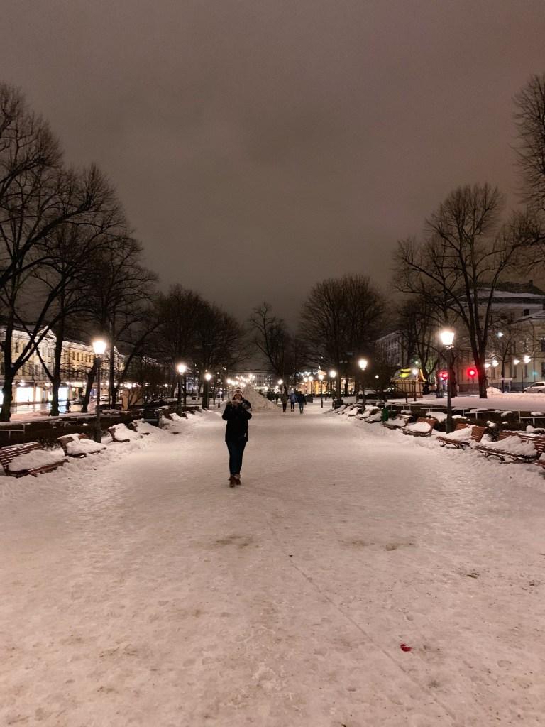 Helsinki - Esplandadin puisto