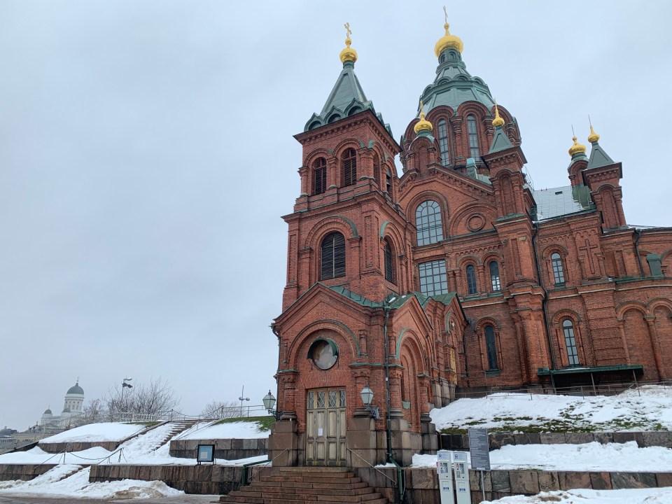 Helsinki - Uspenskin katedraali