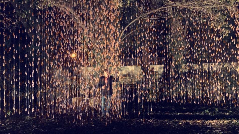 Manav Gupta, art, artist, modern art, Rain, 2018, excavations in hymns of clay   installations