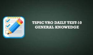 Tspsc VRO daily online test