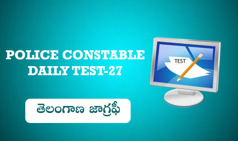 TS POLICE CONSTABLE DAILY TEST 27
