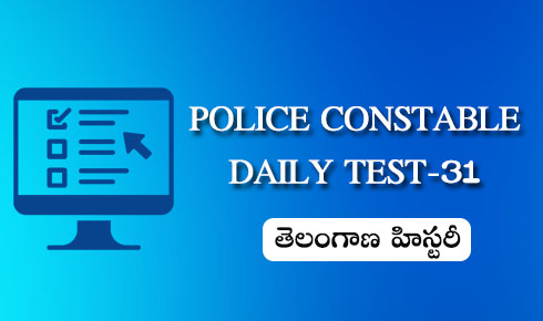 POLICE CONSTABLE DAILY TEST 31