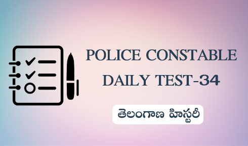 POLICE CONSTABLE DAILY TEST-34