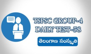 TSPSC GROUP-4 DAILY TEST-58