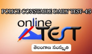 POLICE CONSTABLE DAILY TEST-45