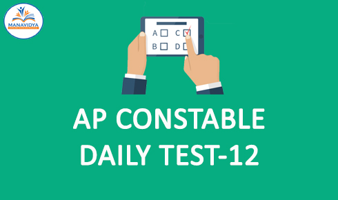 AP Police Constable Online mock test-12