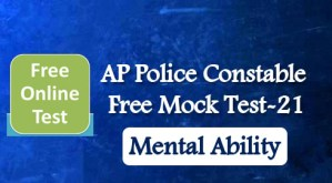 AP Police Constable Free Mock Test-21