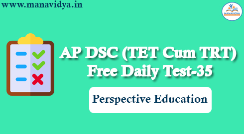 AP DSC (TET Cum TRT) Free Daily Test-35