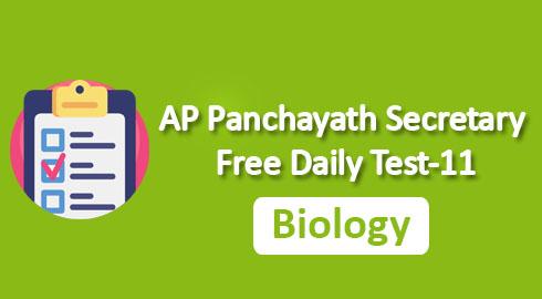 AP Panchayath Secretary Free Daily Test-11