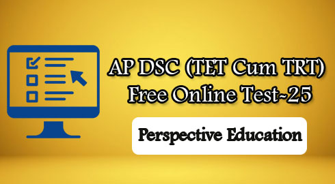 AP DSC (TET Cum TRT) Free Online Test-25