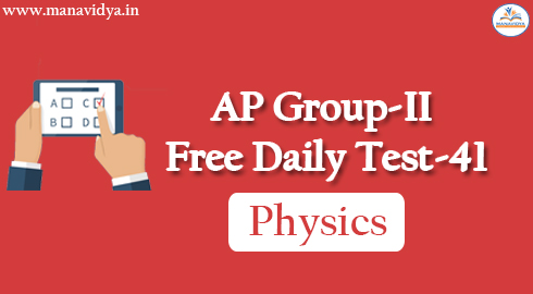AP Group-II Free Daily Test-41