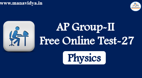 AP Group-II Free Online Test-27