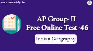 AP Group-II Free Online Test-46