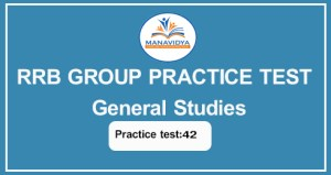 RRB Group D Practice test in telugu