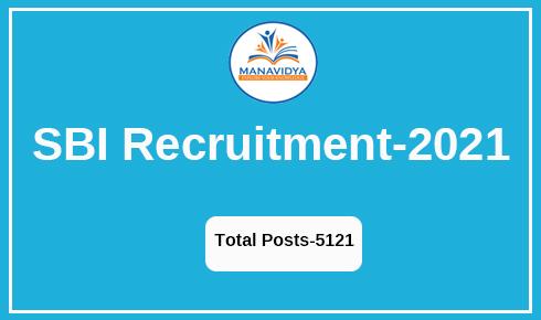 SBI Recruitment-2021