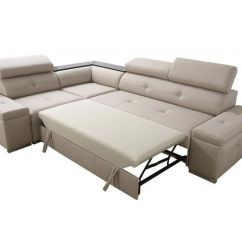 1 Personers Sofa Med Chaiselong Modern Leather Sleeper Sectional Manaya Oliver Mini Comfort